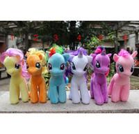 Wholesale New Arrival cm My Little Pony Plush Cartoon plush Dolls Stuffed Toys Plush Animals