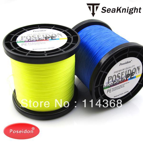 Wholesale poseidon brand 3000m pe braided fishing line for Cheap braided fishing line