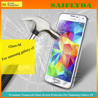 Wholesale Tempered Glass Explosion proof Shatter proof Film Guard Shield for samsung s3 s4 s5 S6 S6 edge iphone s s iphone quot iphone plus