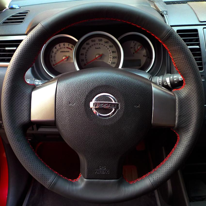 Nissan Online Store: Steering Wheel Cover For Old Nissan Tiida Livina Sylphy