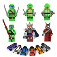 Wholesale Teenage Mutant Ninja Turtles Minifigure set Building Blocks Sets Figure DIY Bricks toys