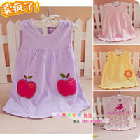 Cheap TuTu baby dress Best Summer A-Line girl dress