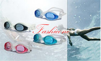 Wholesale 4 Color Professional Silicone Anti fog Waterproof Swimming Goggles Glasses