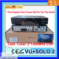 Receivers DVB-S  Vu plus solo 2 twin tuner hd oringal image vu solo 2 receiver hot sell and free shipping 3pcs