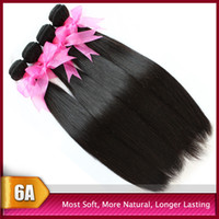 Big Promotion!Cheap 6A Peruvian Virgin Hair Weft Weave Silky...