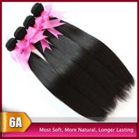 Big Promotion!Cheap 6A Peruvian Virgin Hair Weft Weave Silky...