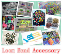 Other rainbow loom rubber band - Best toys offered Rainbow Loom Rubber Band Accessory General Discoloration Glitter Metallic Glow Tie Dye Camo Charms Hook Clips