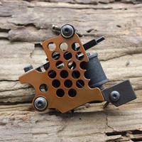 tattoo gun frames - Tattoo Machines Guns Supply Set Liner Warps Coils Cast Iron Frame