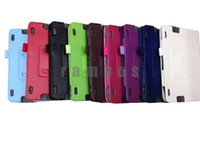 Wholesale PU Leather Folio Case Cover Stand for Amazon Kindle Fire HDX