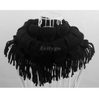 Cheap 10pcs lot+2014 New Arrive Fashion Women Winter Warm Knit Fringe Tassel Neck Wrap Circle Snood Scarf Shawl (fx233) Free Shipping