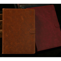 Wholesale S5Q Luxury Retro Multicolor PU Leather Smart Case Stand Cover For Apple Ipad Air AAADBT