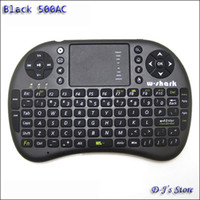 Wholesale W Shark AC Ghz Wireless Mini Keyboard with TouchPad New in Box Black Operate by xAAA