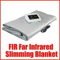far infrared sauna - New FIR Far Infrared Slimming Rug Sauna Blanket Full Body Wrap Slimming Machine