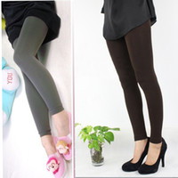 women winter tights - Hot Sale Colors Pick Women Warm Winter Slim Leggings Stretch Pants Thick Footless Tight