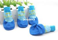 big labrador - 4pcs Set Cotton New Fashion Waterproof Pet Dog Socks For Small Puppies Teddy Big Dogs Labrador Colors Sizes