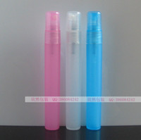 Translucent blue pink Other / other Other / other 10ML perfume bottle fine mist spray bottle plastic spray bottle cosmetics perfume small bottle packaging