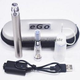 eGo C Twist Kits CE4 Atomizer E Cigarette E Cig Starter Kits eGo-C Twist Battery 650mah 900mah 1100mah Electronic Cig Various Colors Instock