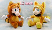 Wholesale styles super mario can choose tanooki Mario fox Luigi Doll inch kitsune cm plush toy doll