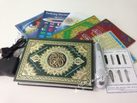 Wholesale New Box M10 Islamic Koran Coran Quran Pen Reader Books GB Quran Player with Gift Pray Mat Drop Shipping