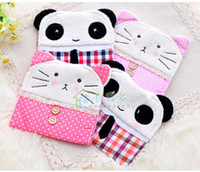 Nylon  Sundries Folding Sanitary napkins sanitary napkins pack bag sanitary napkin package cute adorable panda and a department of cat (10 pieces)
