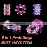 Wholesale Different Penis Rings Vibrating Rings Cock Rings Sex Ring Sex Toy Sex Products Adult Toys