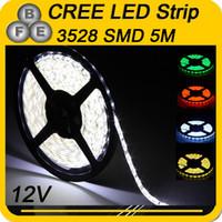 Holiday 12 volt led light - 5M led strip SMD3528 Waterproof IP65 White Green Red Yellow LED Flex Strip volt led strip lights