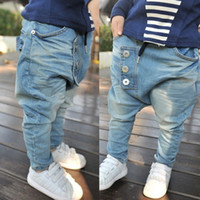 Wholesale Hot selling New arrive Baby Kids Clothing Children s pants Boy s Harem Pants PP jeans child pants trousers