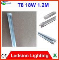 T8 18w 2835 25PCS Fedex free LED Tube Light Lamp led T8 tube SMD 2835 96 LED Fluorescent Tube Light T8 AC90-277V 18W 1800lm 1.2M 1200mm Pass CE ROHS