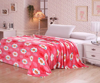 100% Polyester Home Adults Euphoria Brand Super Soft Warm Snug Throw Blanket Bedspread Cute Pink White Sheep Cartoon Style Knee Baby Queen King Sizes