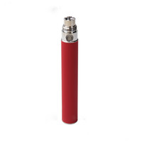 1100mAh Non-Adjustable Electronic Cigarette Colorful EGO-T Battery For Electronic Cigarette E-cig Ego-T Ego-W Ego-C MT3 510 Thread CE4 CE5 CE6 T2 650mah 900mah 1100mah e cigarette DHL