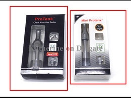 Protank OR Mini Protank Clear Atomizer Series Clearomizer for ego E Cigarette Electronic Cigarette E Cig Clear Color Instock