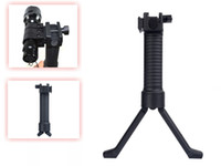Wholesale Quality Scope Mounts RIS RAS Tactical pistol Fore grip amp Bipod QD System for mm rail Black hunting airsoft