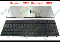 Wholesale New and Original Notebook Laptop keyboard for Sony Vaio SVE15 SVE SVE1511 Black WITH Frame German GR Deutsch DE version