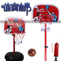 D130503095923 Autumn Genuine Leather, Leather, Suede free shipping hot sales, sports area, children's basketball shelf, sport baby, indoor shooting toys (1.6 meters),drop shipping