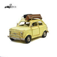 Metal   Vintage Metal Handmade Craft Station Wagon Veteran Car Mold Bar Decoration Artwork 1004a-