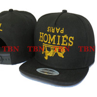 Wholesale Homies By EMS Mixed Adjustable Snapbacks Hats New Design Snapback Caps Snap back Cap Men s Sport TOP Quality Man Hat