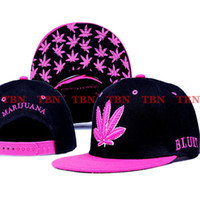 Wholesale Marijuana By EMS Mixed Adjustable Snapbacks Hats New Design Snapback Caps Snap back Cap Men s Sport TOP Quality Man Hat