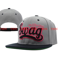 Wholesale Swag By EMS Mixed Adjustable Snapbacks Hats New Design Snapback Caps Snap back Cap Men s Sport TOP Quality