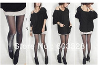 Foot Cover Women Polyester Black Shiny Pantyhose Glitter Stockings Womens Glossy Tights