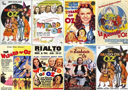 Wholesale Postcards The Wizard of OZ Musical film Judy Garland cm amp Retail