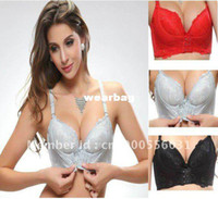 Bras Cotton Normal Free P&P!!Sexy A B Cup Magic Enhancer Push Up Bra Gel Padded Massage Side Support Plunge! Super Boost 4 Colours. Creat Cleavage!