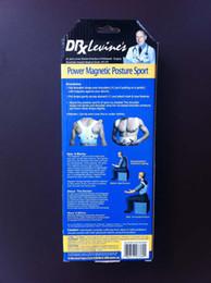 Wholesale 1000pcs Magnetic Posture Support Corrector Back Pain Feel Belt Brace Shoulder