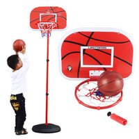 Balls 3 & 4 Years Boys Can lift large household indoor basketball shooting game hanging mobile basketball baby toys for children