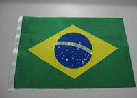 Wholesale Brazil World Cup countries flags waving flag bearer tables cm
