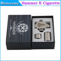 Electronic Cigarette Battery  Hammer pipe Mod Kit E cigarette E pipe Mod Mechanical Hammer battery body for 510 thread atomizer electronic cigarette 002086