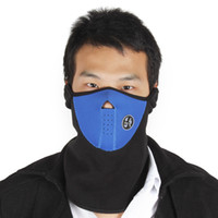Wholesale 35PCS Cheap New Cheap Neoprene mask Winter Cycling Half Face Mask Neck Warmer For Ski Snowboard Motorcycling CYC_705