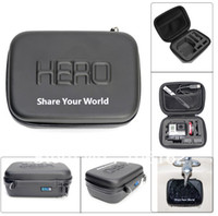 Wholesale GoPro Accessories HD Shockproof WaterProof Portable Case For GoPro Hero HD3 N2 Camera Accessories Gopro Bags small size