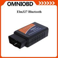 Wholesale Hottest Works On Android Torque v1 elm327 bluetooth ELM Interface OBD2 OBD II Auto Car Diagnostic Scanner tool OBDII