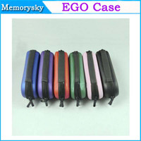 Wholesale on sale EGO Case S M L Ego Zipper Carry Case for single double kit Electronic Cigarette PU leather