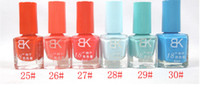 Wholesale maxi freeshipping m291 Nail Polish Seconds Fast Dry Color incense series Colors ml Nail art female